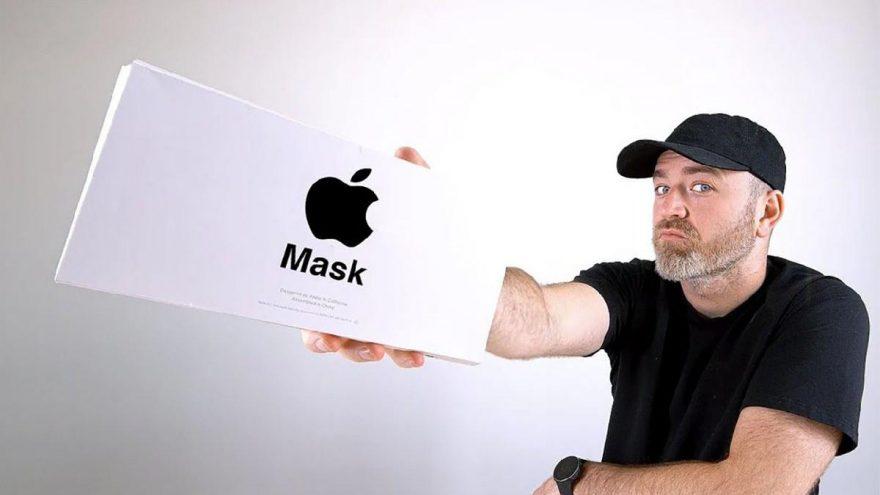Sosyal medya bu görüntüleri konuşuyor! İşte Apple maskeleri