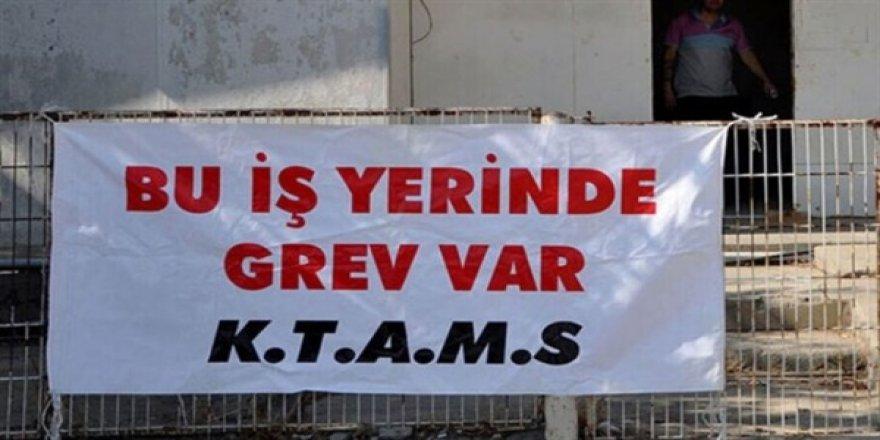 KTAMS, Trafik Dairesi'nde bugün de greve devam edecek