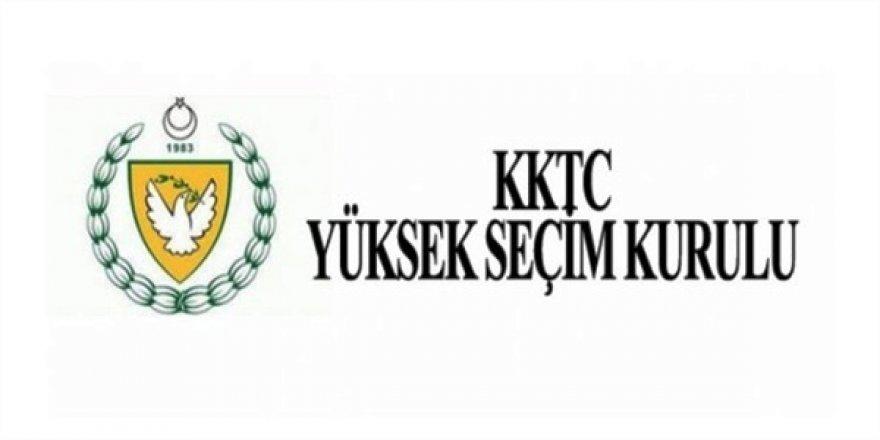 Adayların bugün BRT'de propaganda yapmak için YSK'ya dilekçe vermeleri gerekiyor