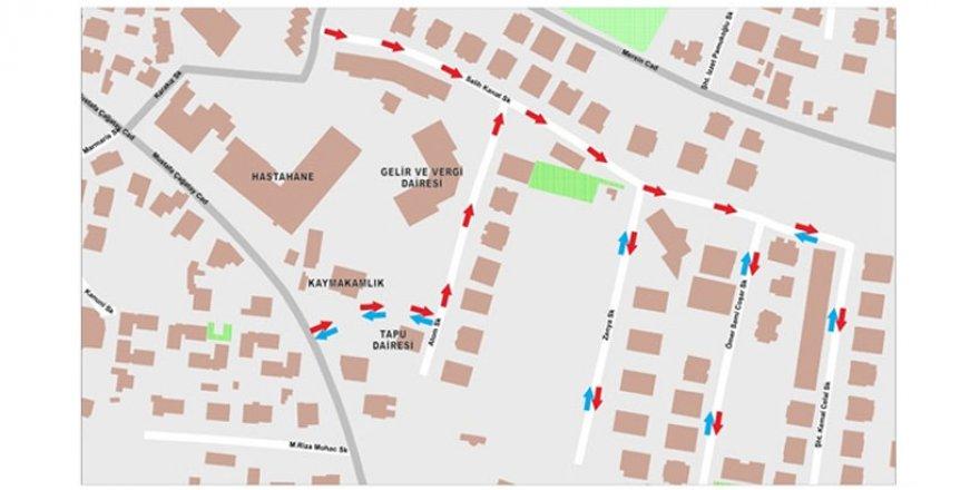 """Girne'de bazı sokaklarda """"tek yön"""" uygulaması denenecek"""