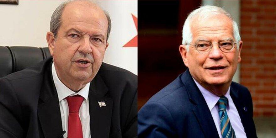 Cumhurbaşkan Tatar, AB Yüksek Temsilcisi Borrell ile görüştü