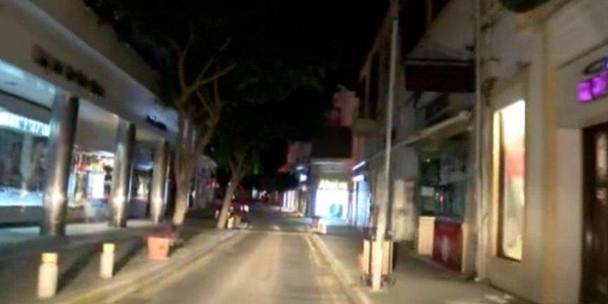 6 Kişi sokağa çıkma yasağını ihlal etti
