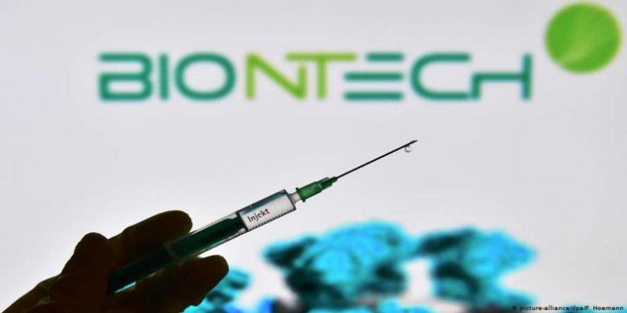 1170 Doz Pfizer Biontech aşısı teslim alındı