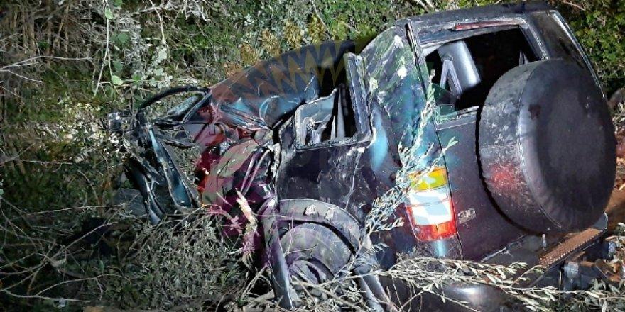 feci kaza: 1 kişi hayatını kaybetti