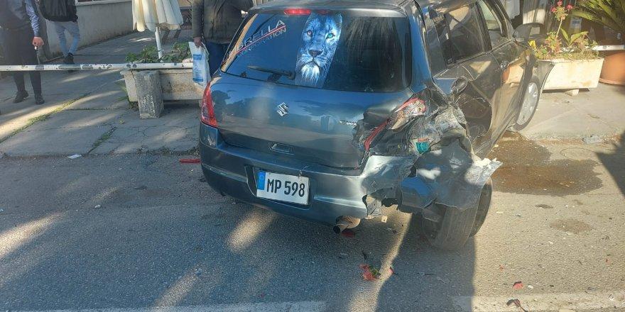 Lefkoşa'daki kazanın sürücüsü alkollü çıktı!