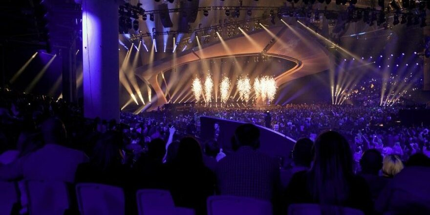 Eurovision'da normale dönüş provası: 3 bin 500 seyirci alınacak