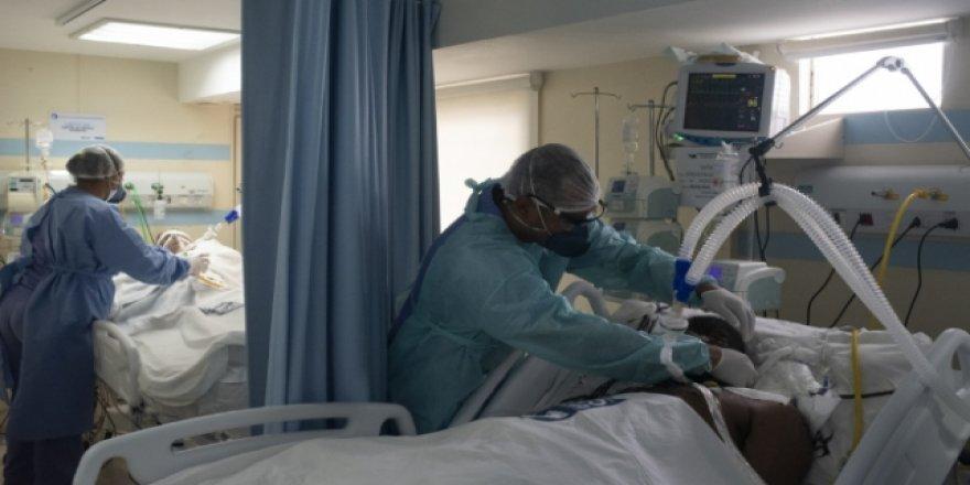 KKTC'de koronavirüs nedeniyle yoğun bakımda tedavi gören hasta hayatını kaybetti.