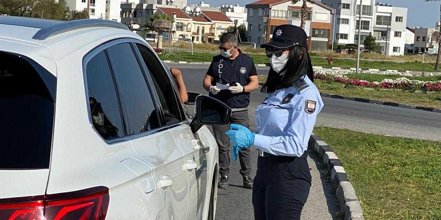 69 kişi sokağa çıkma yasağını ihlal etti, 6 kişi de parti yaparken tespit edildi