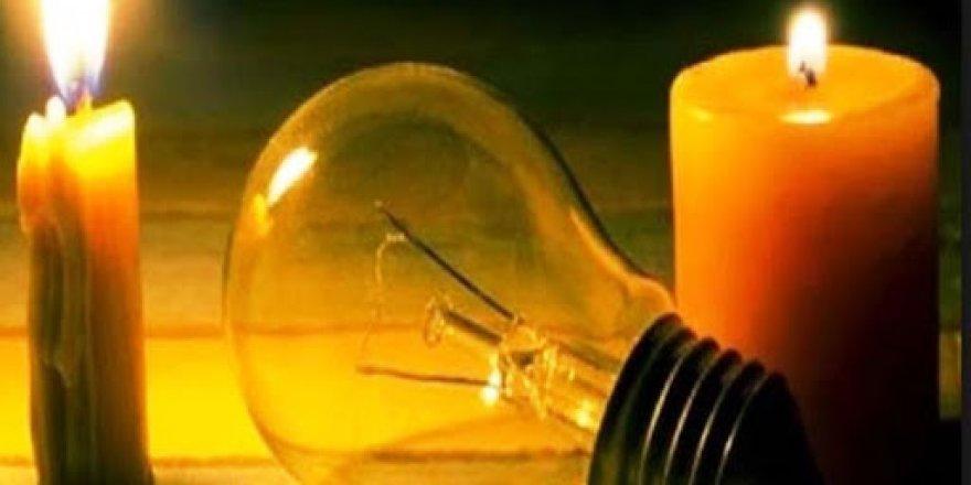 Bazı bölgelerde elektrik kesintisi olacak