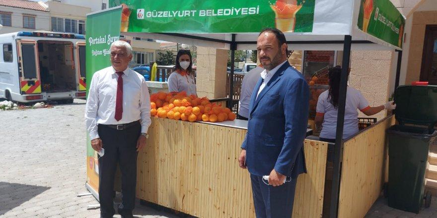 Özçınar: Ülke genelinde yaklaşık 50 ton portakal ücretsiz  dağıtılacak