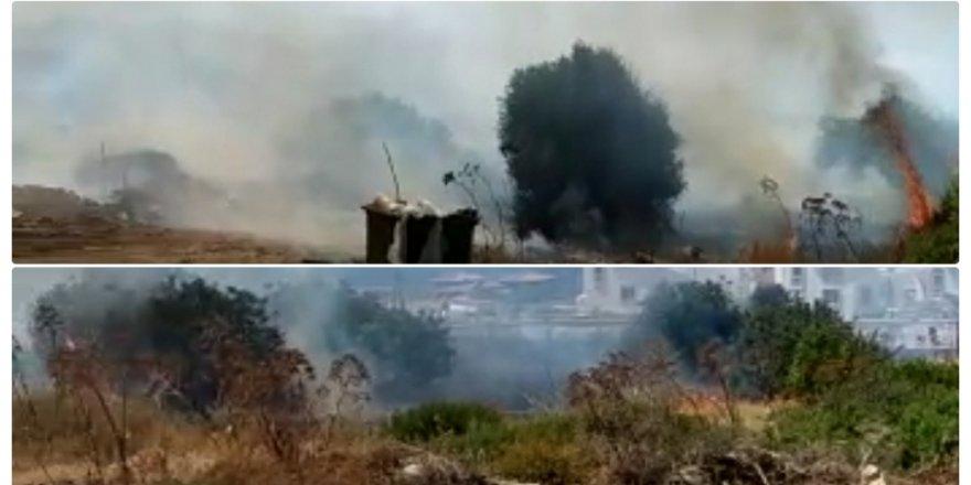 Esentepe'de yangın