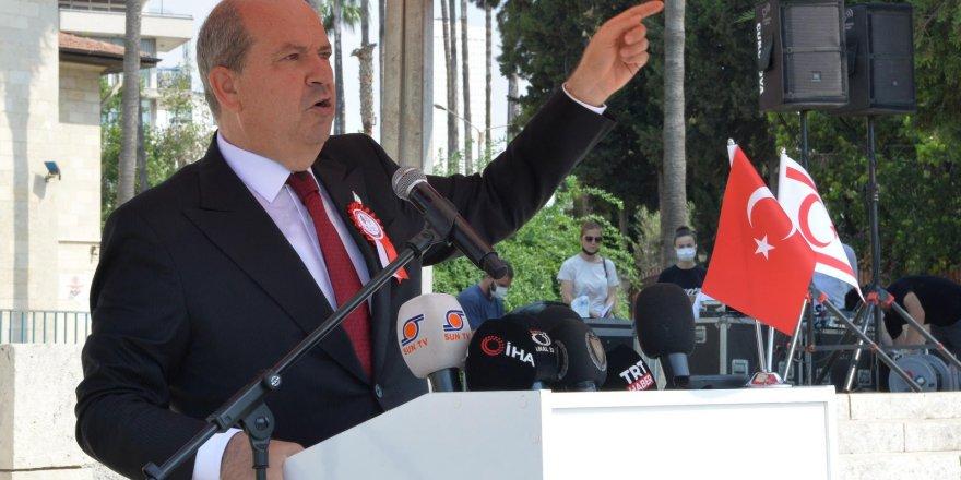 Cumhurbaşkanı Tatar Mersin'de düzenlenen törene katıldı