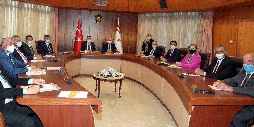 Bakanlar Kurulu, Cumhurbaşkanı Tatar'ın başkanlığında toplandı