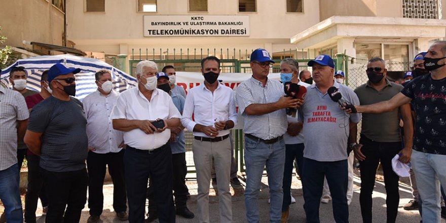 Tel-Sen'den uyarı grevi