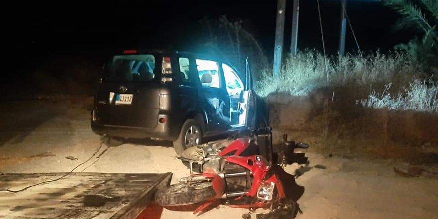 Girne-Tatlısu anayolunda feci kaza! 1 kişi yaşamını yitirdi
