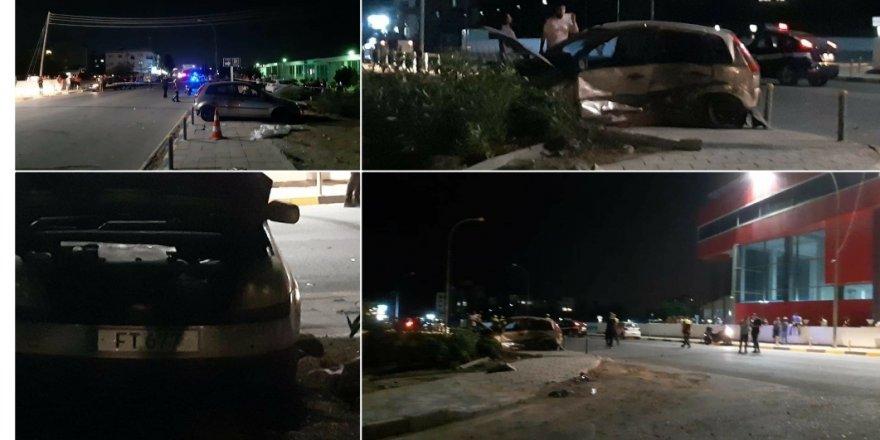 Lefkoşa'da feci kaza..1 Kişi yaşamını yitirdi