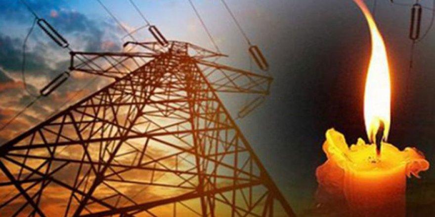 Yarın 2 saatlik elektrik kesintisi…