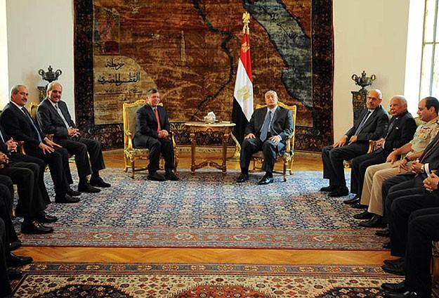 MISIR'I ZİYARET ETTİ