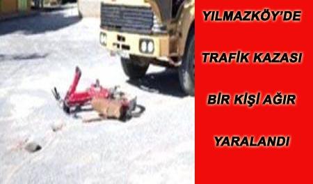 YILMAZKÖY'DE TRAFİK KAZASI...
