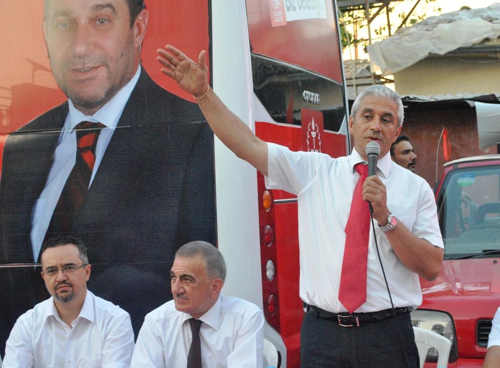 DP-ULUSAL GÜÇLER LEFKOŞA SURLARİÇİ'NDE...