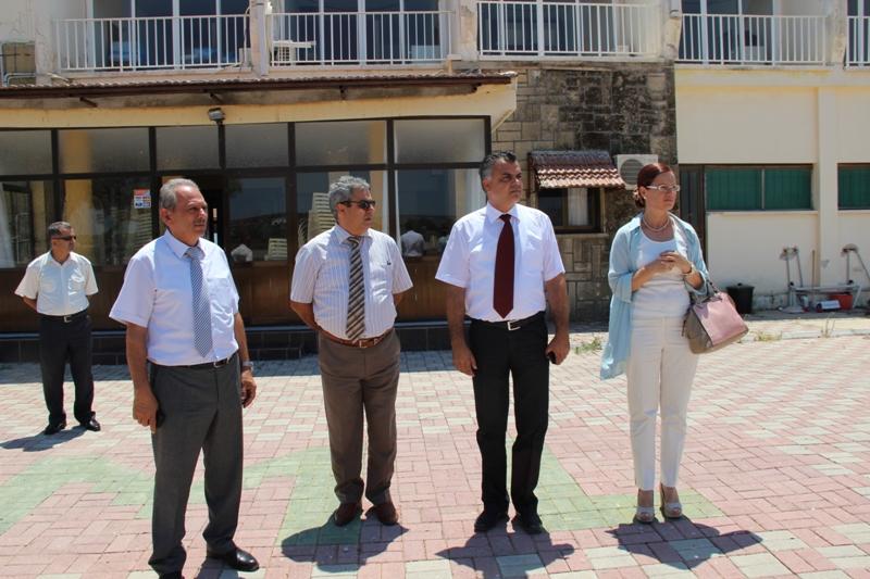 İDRİS, KUMYALI'DA İNCELEMELERDE BULUNDU