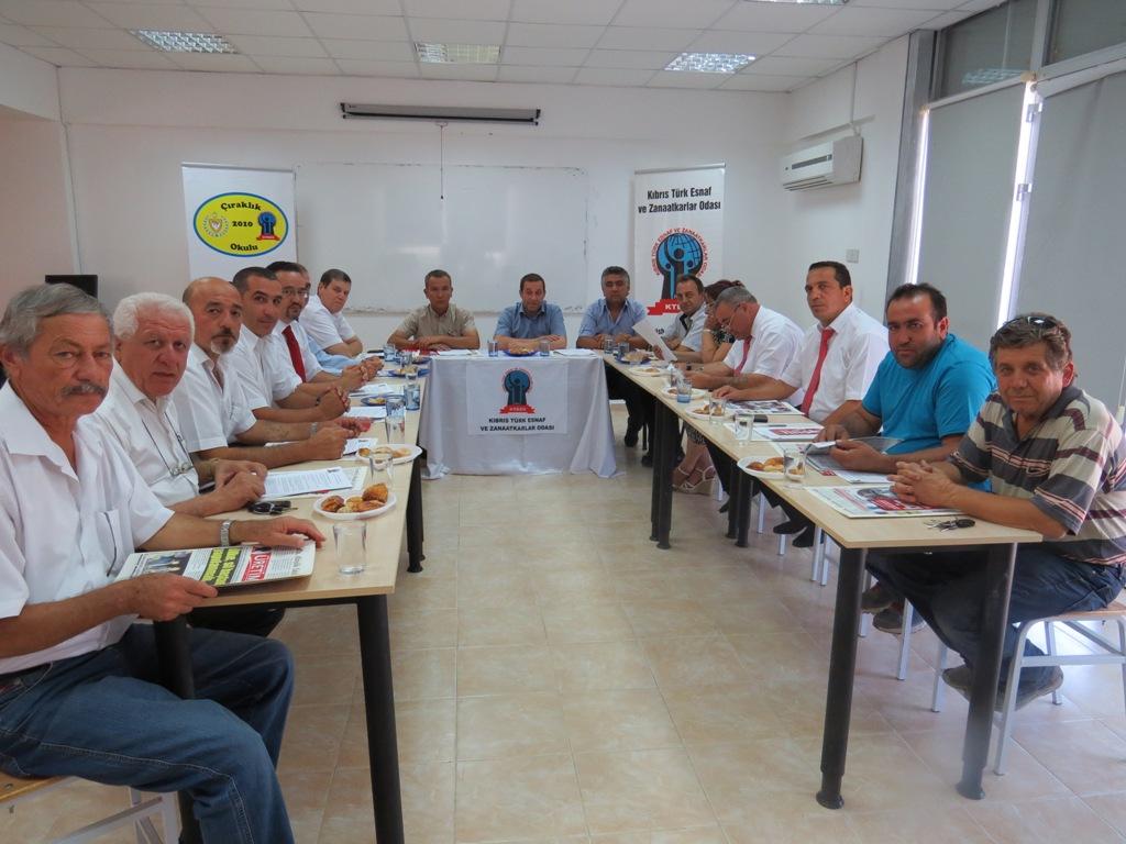 DP-UG HEYETİ ESNAF ODASI'NI ZİYARET ETTİ