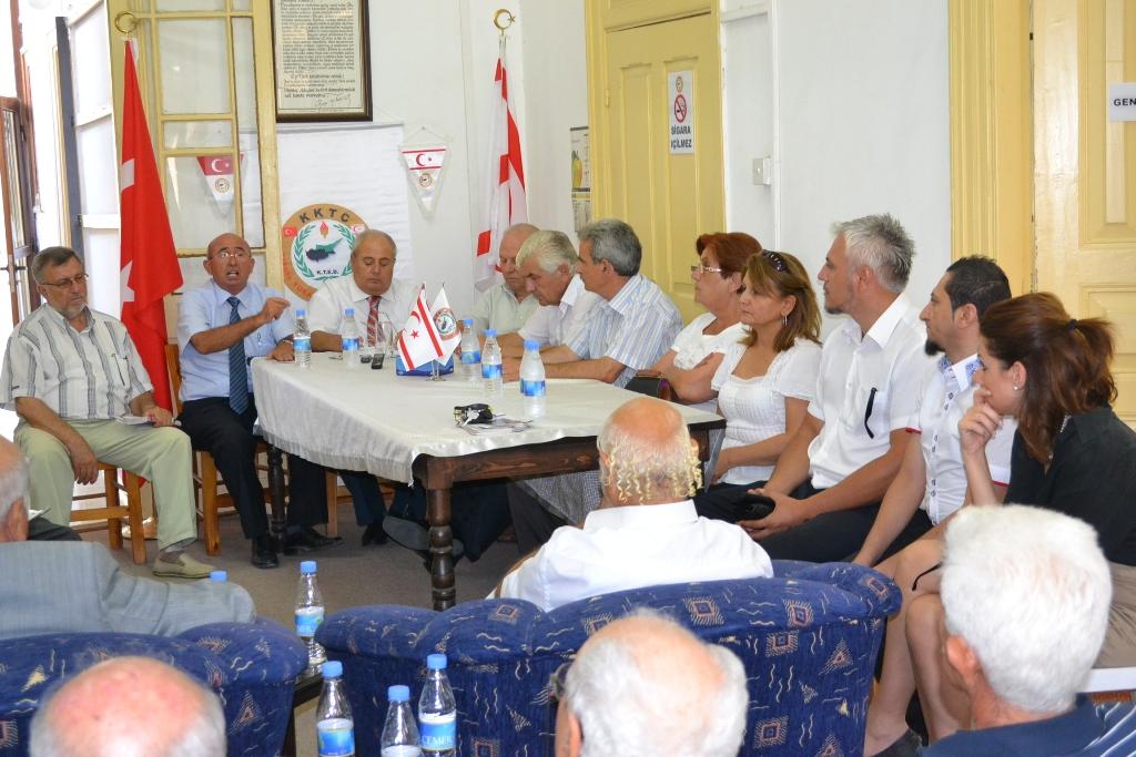 """ÖZYİĞİT: """"CTP DE UBP DE EMEKLİLERİ MAĞDUR ETTİ"""""""