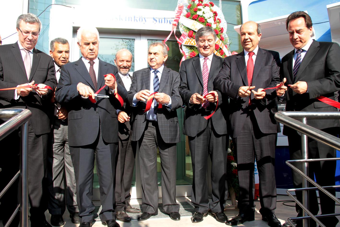 İŞ BANKASI 15. ŞUBESİNİ TAŞKINKÖY BÖLGESİNDE AÇTI