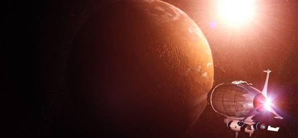 100 BİN KİŞİ MARS'TA