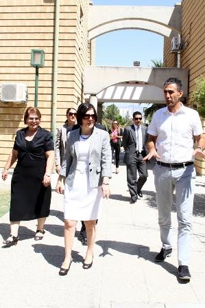 BAŞBAKAN SİBER, SOS ÇOCUK KÖYÜ'NÜ ZİYARET ETTİ