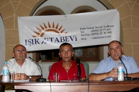 """""""TÜRKİYE – KIBRIS İLİŞKİLERİ VE ADALET"""" PANELİ YAPILDI"""