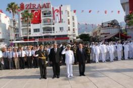 30 AĞUSTOS ZAFER BAYRAMI GİRNE'DE TÖRENLE KUTLANDI
