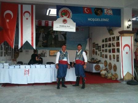 """ANKARA'DA FESTİVALİNDE """"KIBRIS EVİ"""