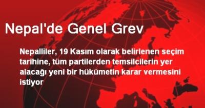 NEPAL'DE GENEL GREV