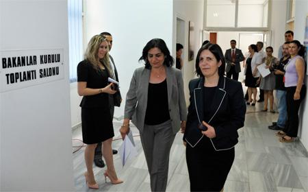 SİBER, TC LEFKOŞA BÜYÜKELÇİSİ'Nİ KABUL EDECEK