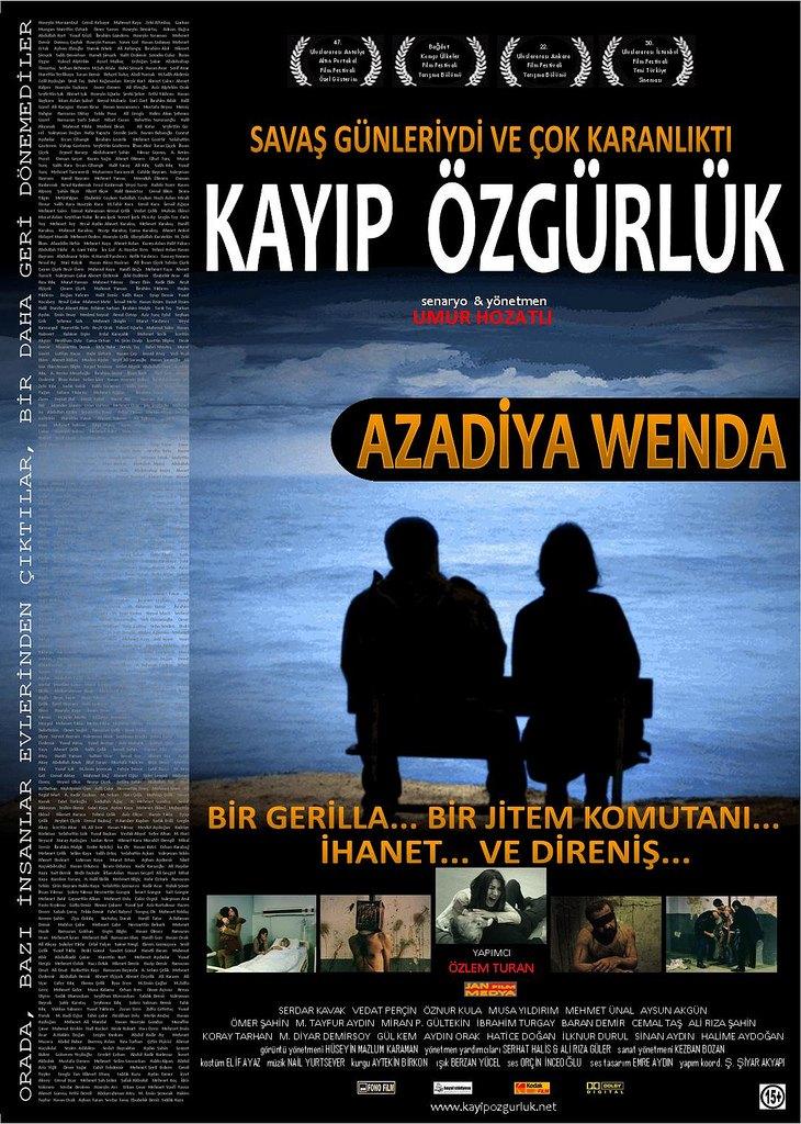 """""""KAYIP ÖZGÜRLÜK"""" FİLMİNİ GÖSTERECEK"""