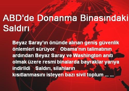 ABD DONANMA BİNASINDAKİ SALDIRI