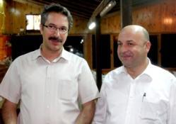 BAKAN BAKIRCI AKP MİLLETVEKİLİ ÜNAL'LA BİR ARAYA GELDİ
