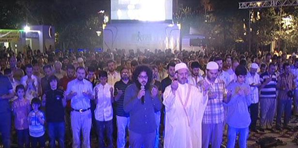 MISIR'DAKİ KATLİAMA TEPKİ GÖSTERİLERİ
