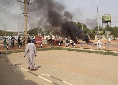 SUDAN'DA AKARYAKIT PROTESTOLARI