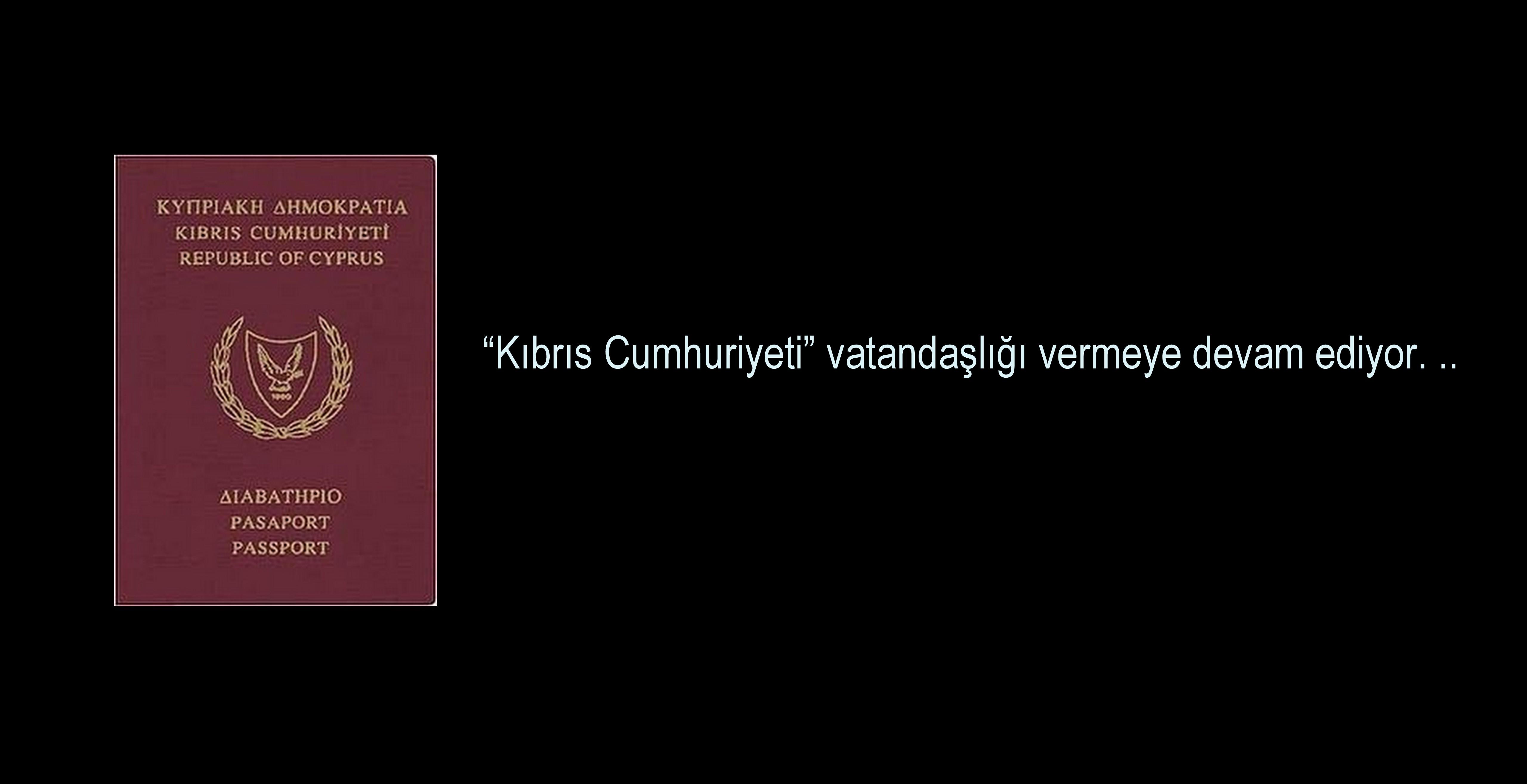 KIBRIS VATANDAŞLIĞI SATIŞLARI