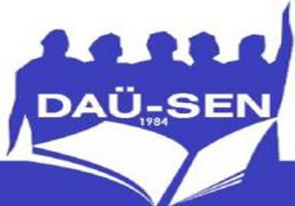 DAÜ-SEN, YENİ GENEL SEKRETERİ MUSTAFA RIZA