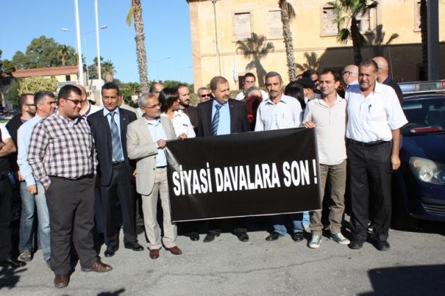 """""""SİYASİ DAVALARA SON EYLEMİ"""""""