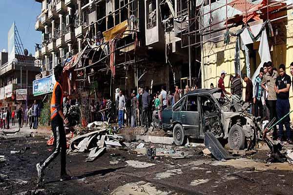IRAK'TA BOMBALI ARAÇLA SALDIRI: 15 ÖLÜ