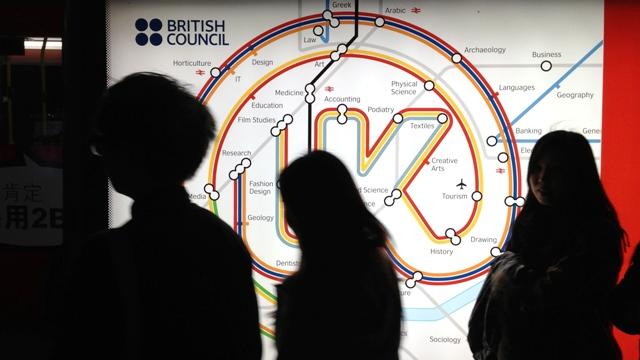 BRITISH COUNCIL'IN KKTC'DEKİ EĞİTİM FUARINA TEPKİ