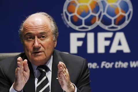 FIFA BAŞKANI BLATTER'DEN 'KIBRIS' AÇIKLAMASI