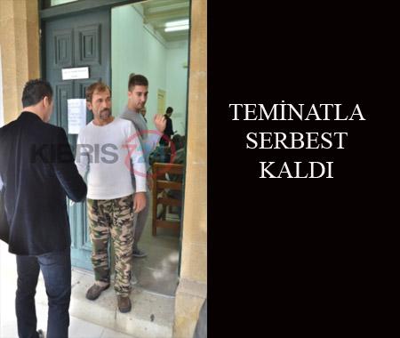 TEMİNATLA SERBEST KALDI