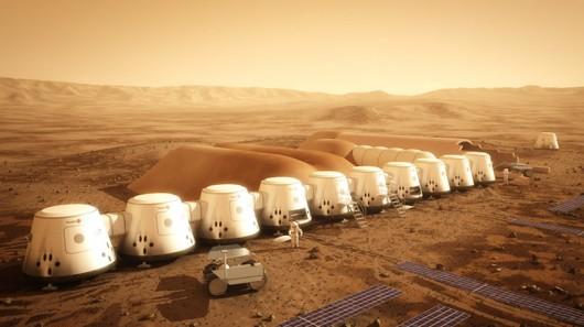 MARS'A YERLEŞMEK İSTER MİSİNİZ?