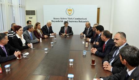 KAŞİF, TÜRKİYE MUHTARLAR FEDERASYONU'NU KABUL ETTİ
