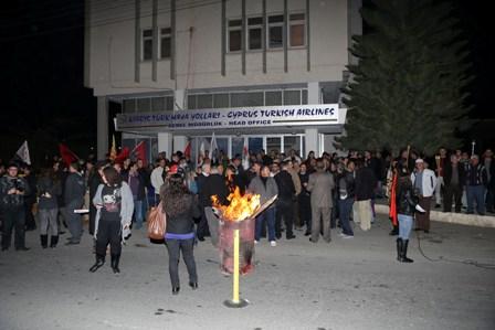 ZAMLARI PROTESTO AMACIYLA EYLEM VE YÜRÜYÜŞ